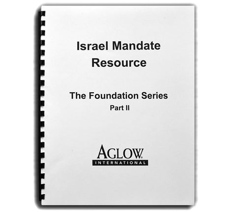 Israel Mandate Resource - Part II