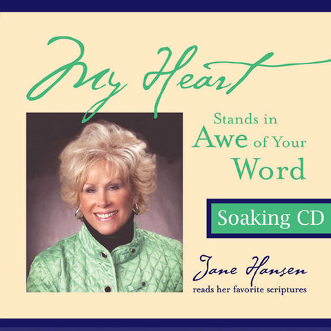 My Heart Stands in Awe Soaking CD