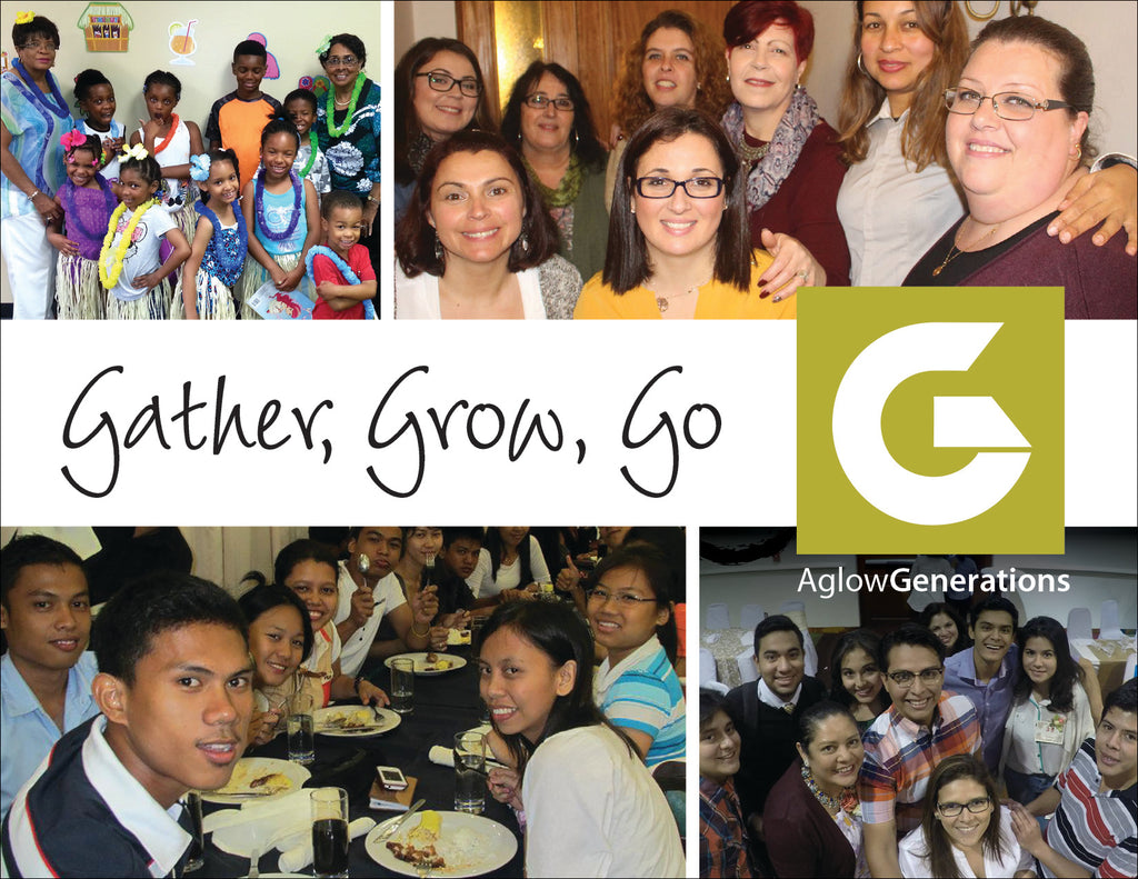 "Generations Postcards - ""Gather, Grow, Go"""