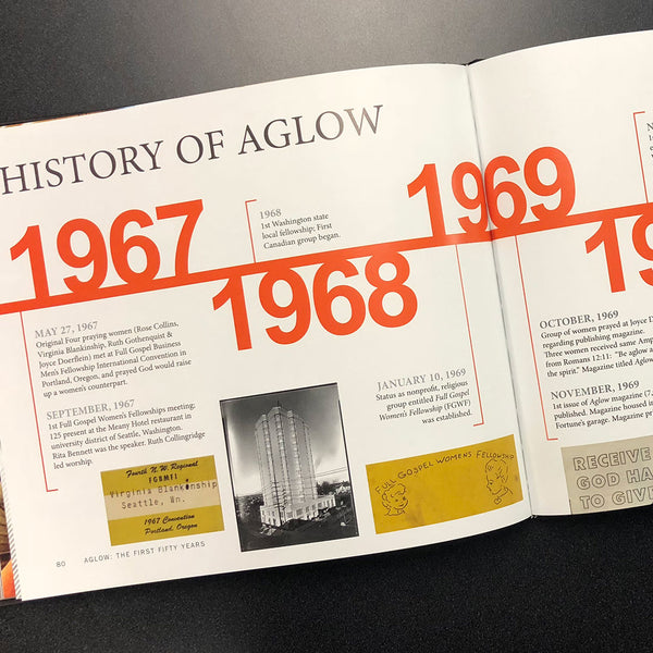 Aglow: The First Fifty Years - Book