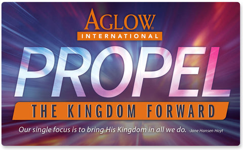 """Propel the Kingdom Forward"" - Magnet"