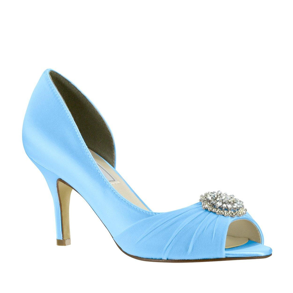 blue wedding shoe, dyeable shoe from Benjamin Walk