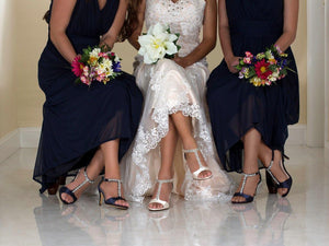 matching bridal party shoes
