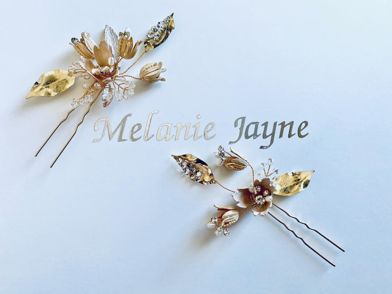 Twilight Hair Pins set of 2