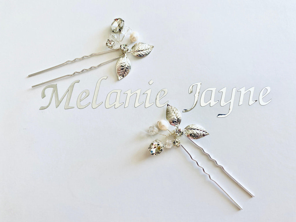 Calla Hair Pins set of 2