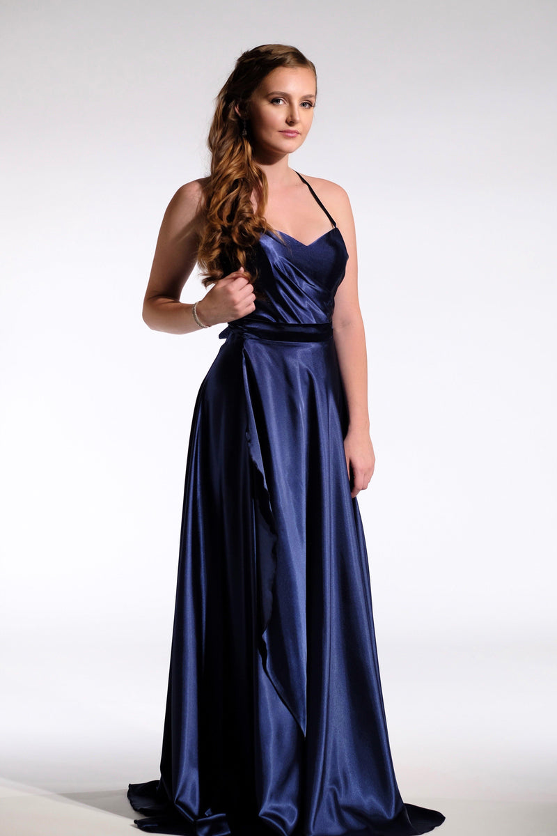 navy formal dress 2020 design