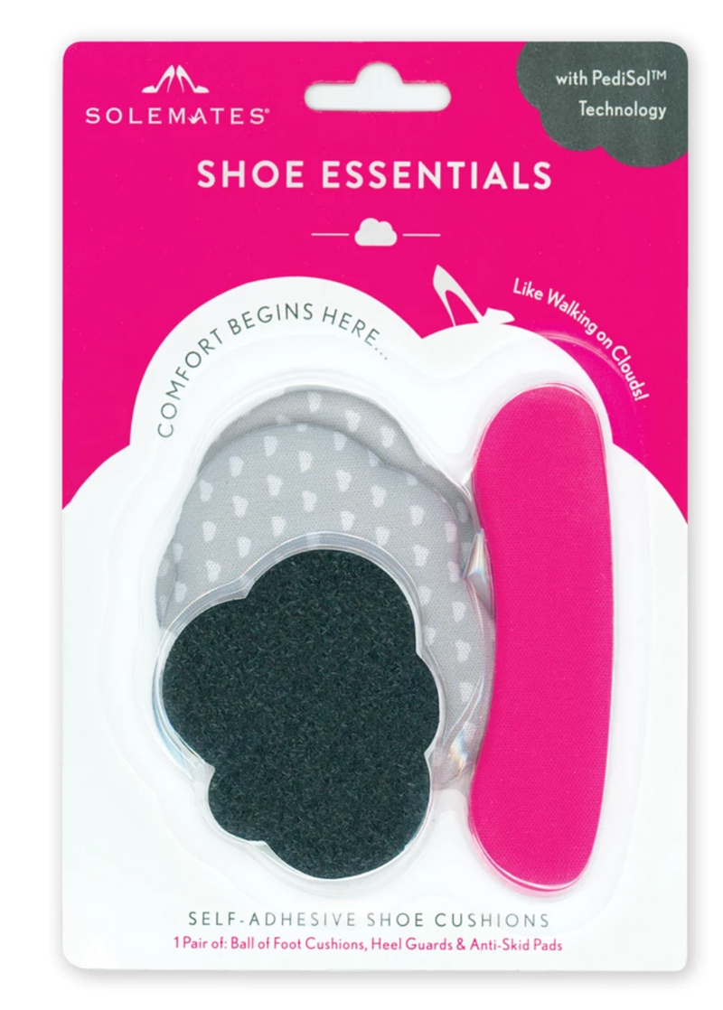 foot cushions and sole grips for shoes