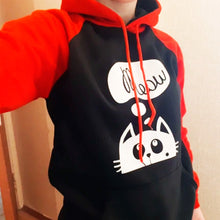 Load image into Gallery viewer, Cat Here Hoodie