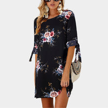 Load image into Gallery viewer, Boho Floral Dress