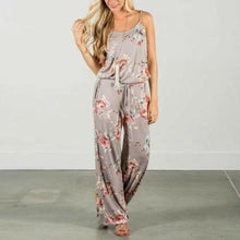 Load image into Gallery viewer, Comfy Floral Jumpsuit [T]