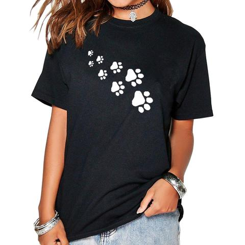 Cat Here Paws T-Shirt