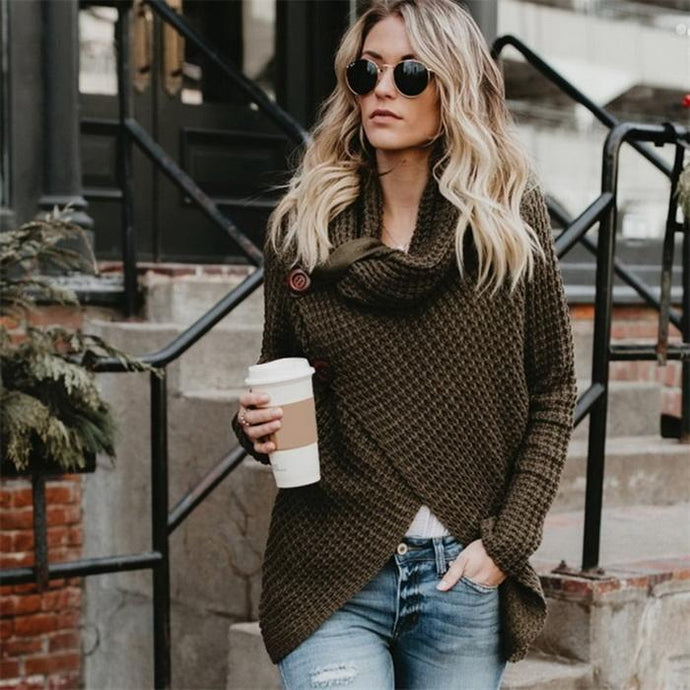 Turtle Cowl Sweater