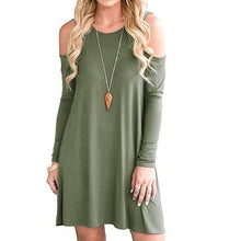Load image into Gallery viewer, Cold Shoulder Loose Tunic