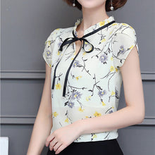 Load image into Gallery viewer, Floral Chiffon Blouse
