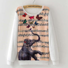Load image into Gallery viewer, Cartoon Print Sweatshirt