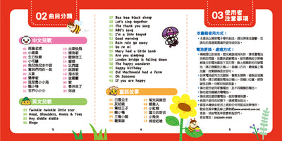 Story Teller Toy for Kids ,54 Chinese / English Children Nursery Rhyme Lullaby Songs