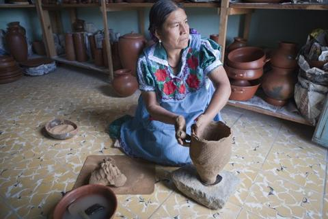 One Designer's Crusade to Save Oaxacan Pottery From Extinction