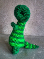 The Color Caravan Hand Crocheted Animal - Dinosaur