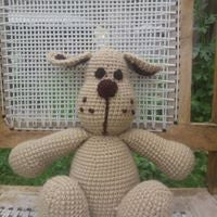 The Color Caravan Hand Crocheted Animal - Dog