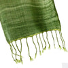 Avani Wild Silk Scarf in Green
