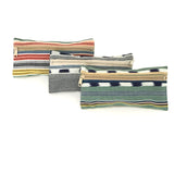 El Camino de Los Altos Set of 3 Striped Cases - Grey & Mustard