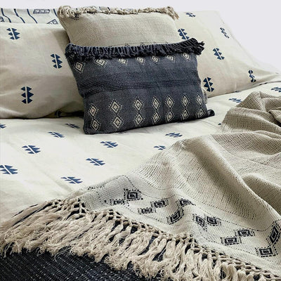 MATTER X Tilonia® Queen Duvet Set in Kangura Spikes in Blue