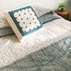 Proud Mary for Tilonia® King Quilt in Stripes in Teal