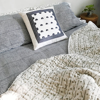 Proud Mary for Tilonia® Twin Quilt in Criss Cross in Grey