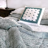 Proud Mary for Tilonia® Queen Quilt in Stripes in Teal