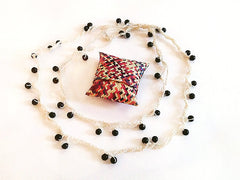 Colectivo 1050º Beaded Necklace - Blanco