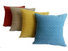 El Camino de Los Altos Brocade Pillow Cover - Puntitos from Sprout Enterprise®