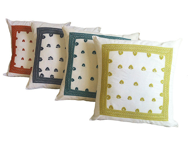 El Camino de Los Altos Embroidered Pillow Covers
