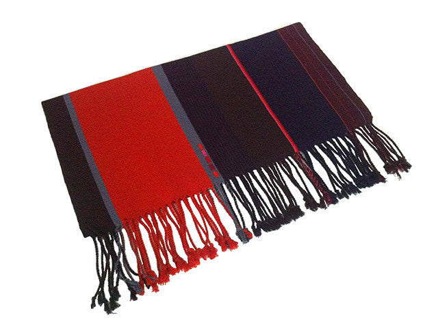 El Camino De Los Altos Striped Shawl   Ik