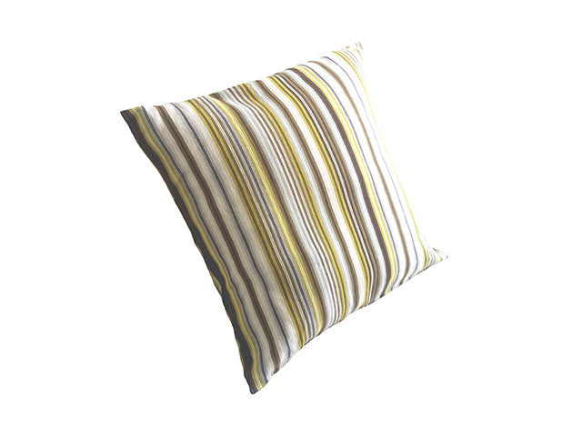El Camino de Los Altos Striped Pillow Cover - Dulce Toronja