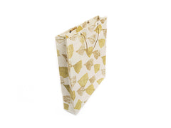 Elrhino Paper Gift Bags - Set of 5 Large with German Leaf Print