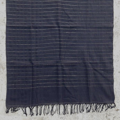 Kala Swaraj Mulmul Cotton and Tussar Silk Shawl