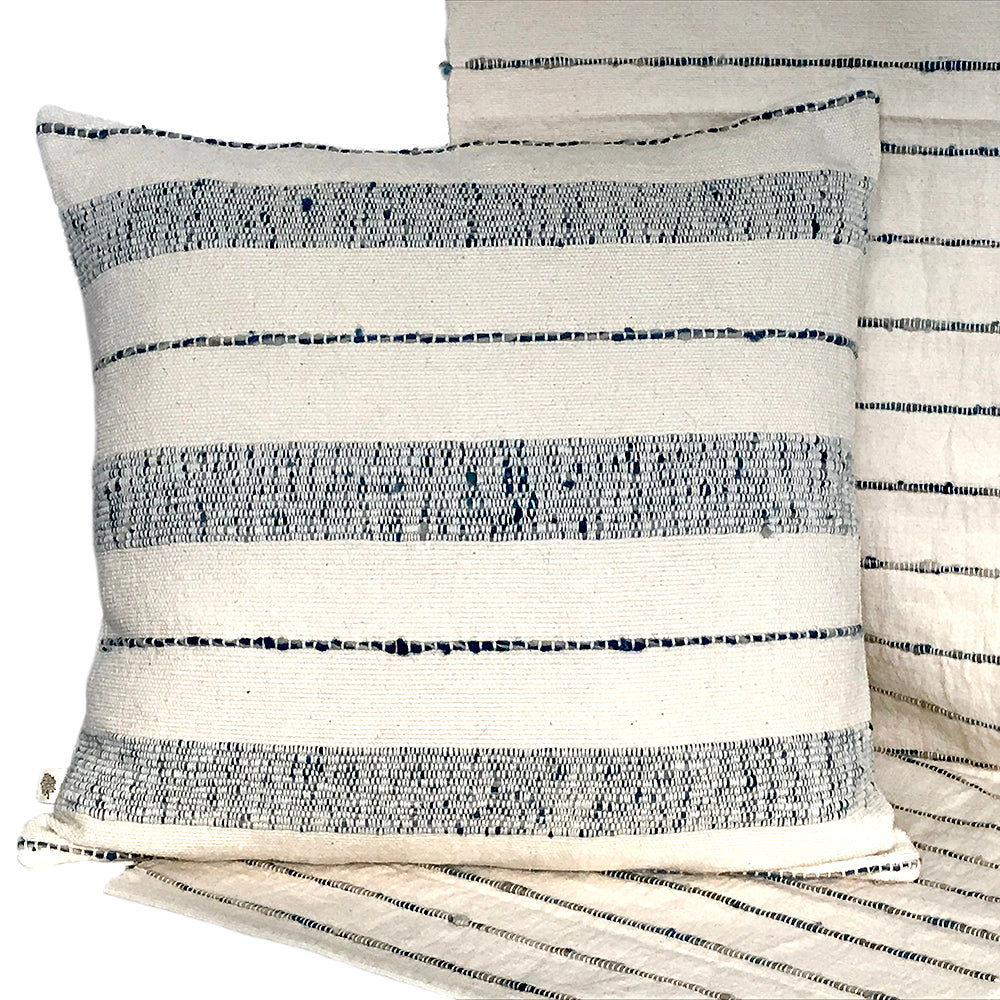 Natural Art Striped Pillow Cover - STP012F