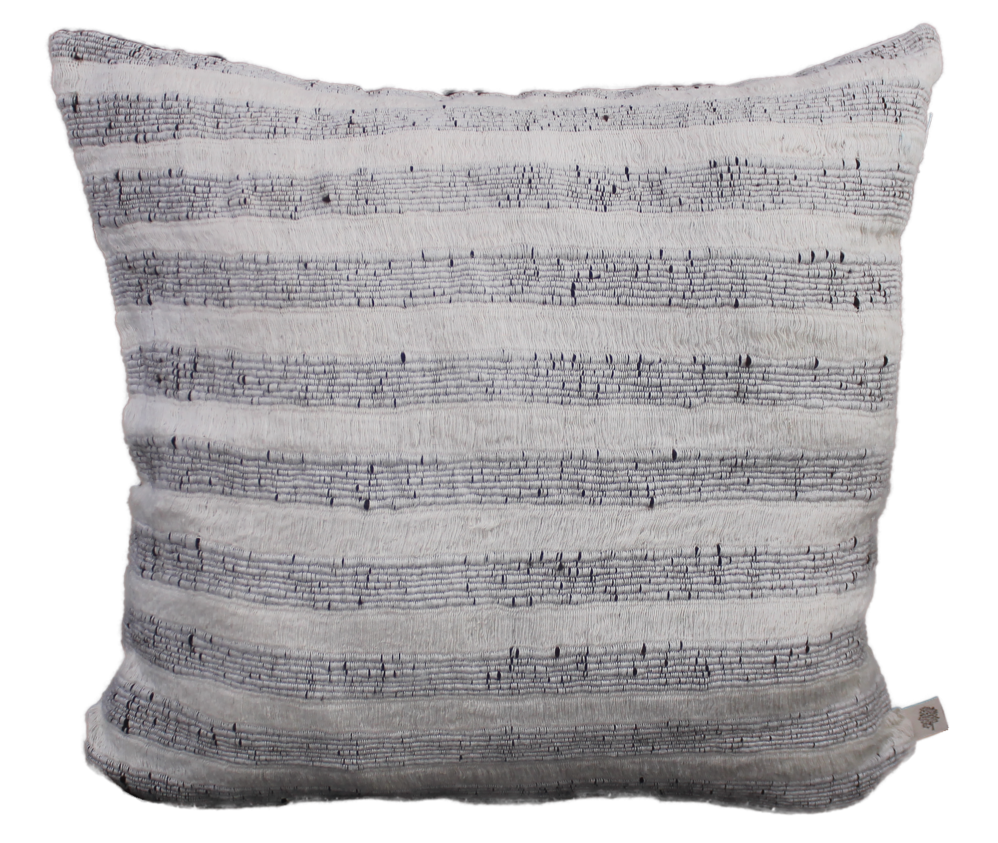 Natural Art Striped Pillow - STP011D