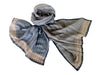 WomenWeave Handspun Cotton & Tussar Silk Shawl WW387GM