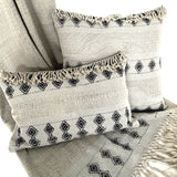 Natural Art Striped Pillow - STP005F