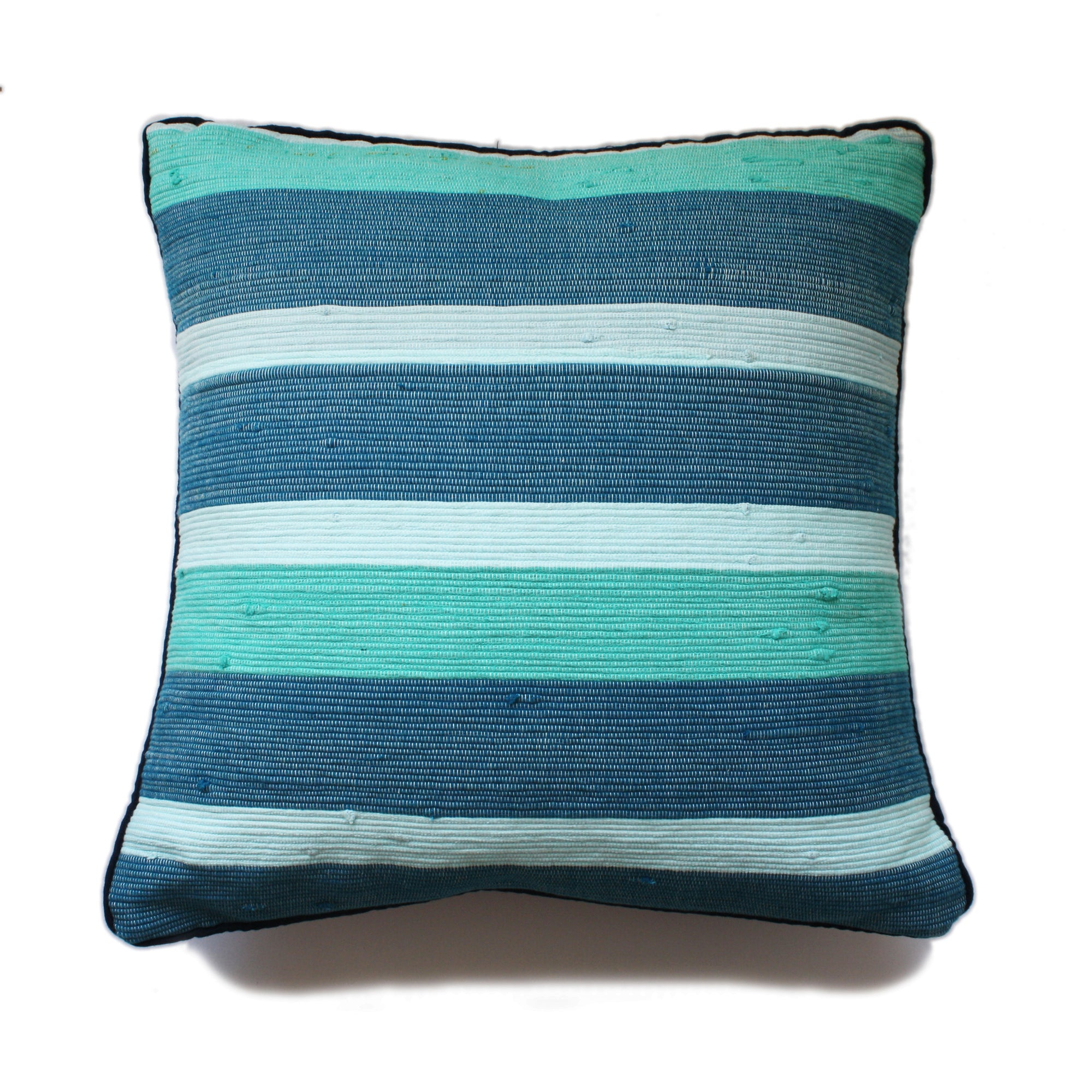 tonlé Takeo Pillow Cover - Aqua