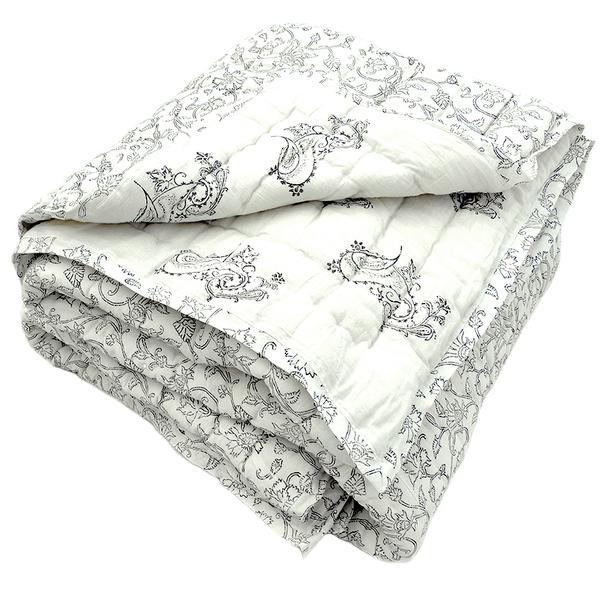 Tilonia® Twin Quilt in Fancy Paisley in Black