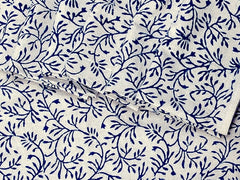 Tilonia® Table Linen Set for 6 in Hanuman Vine  in Blueberry Blue