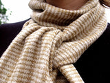 WomenWeave Handspun Cotton & Tussar Silk Shawl WW102GM