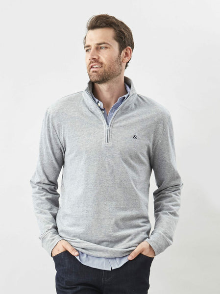 The Q Zip Pullover