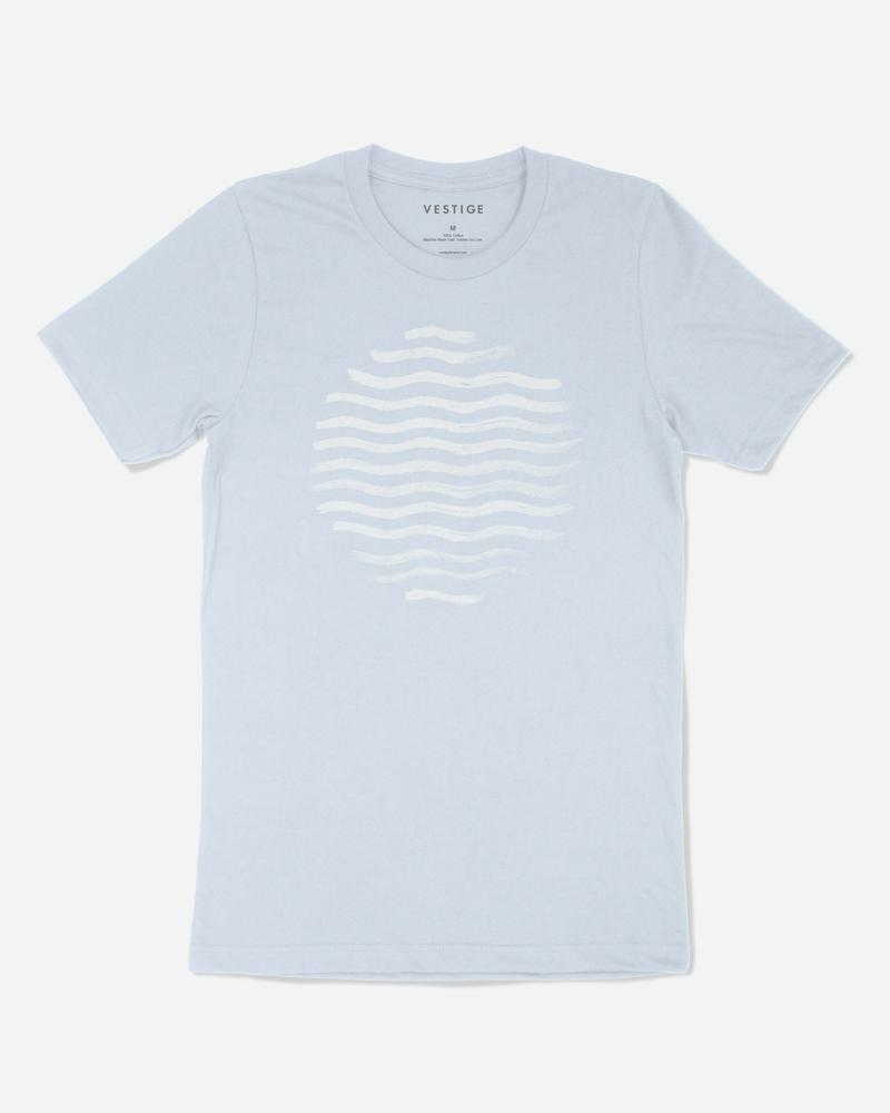Beach Vibe Redux T-Shirt Light Blue
