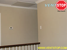 Insulated nonmagnetic vent covers for central air conditioning vents, returns whole house fans shutters louvers