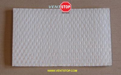 "VentSTOP 8""x16"" Insulated Non-Magnetic AC Vent Cover"