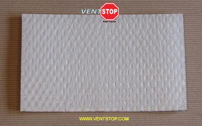 "VentSTOP 8""x12"" Insulated Non-Magnetic AC Vent Cover"
