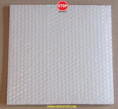 "VentSTOP 16""x16"" Insulated Non-Magnetic AC Vent Cover"
